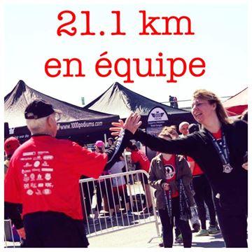 Image de Course Défi PSF 8 septembre 2018 -  21.1km Équipe de 2 personnes